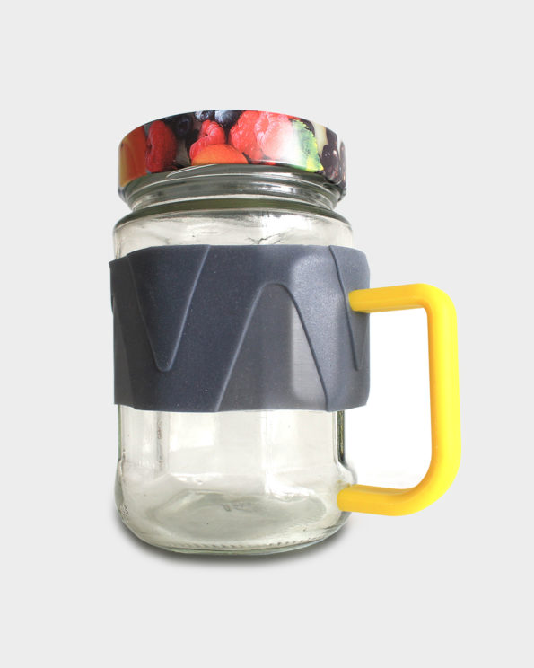 Cool and unique mason jars with handles from old bottles - jarry