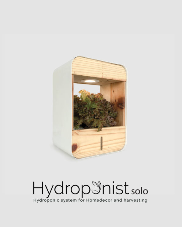 Hydroponist Solo - Hydroponics setup for home decor and harvesting